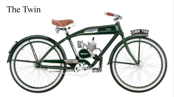 Part beach cruiser part motorcycle ridley vintage Best frame for motorized bicycle