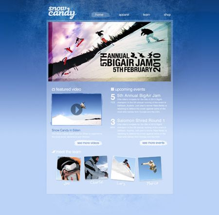 Дизайн для сайта в Фотошоп / Photoshop уроки и всё для фотошоп - новые уроки каждый день!