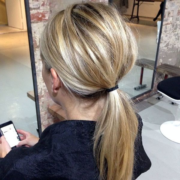 how to make a basic ponytail