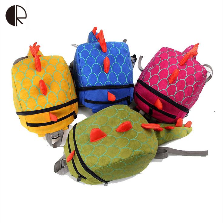 Dinosaur backpack for kids Children Backpack animals Kindergarten School bags for 1-3 years Children Backpack