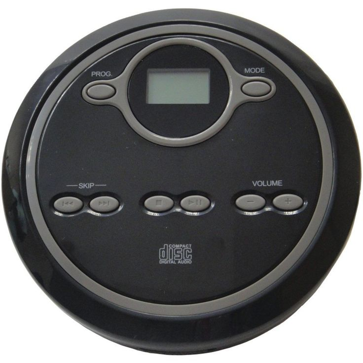 Visiocology : Sylvania CURSCD300 Personal Travel Compact Cd Player