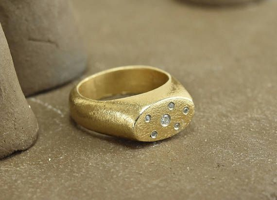 romantic Rings, Goldfilled ring, Zircon ring, #jewelry #ring @EtsyMktgTool #goldplatedring #zirconring #romanticrings #unusualrings