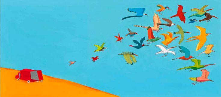 Gli uccelli - Germano Zullo e Albertine