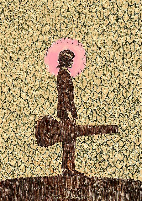 Nick Drake By Rodrigo Aviles