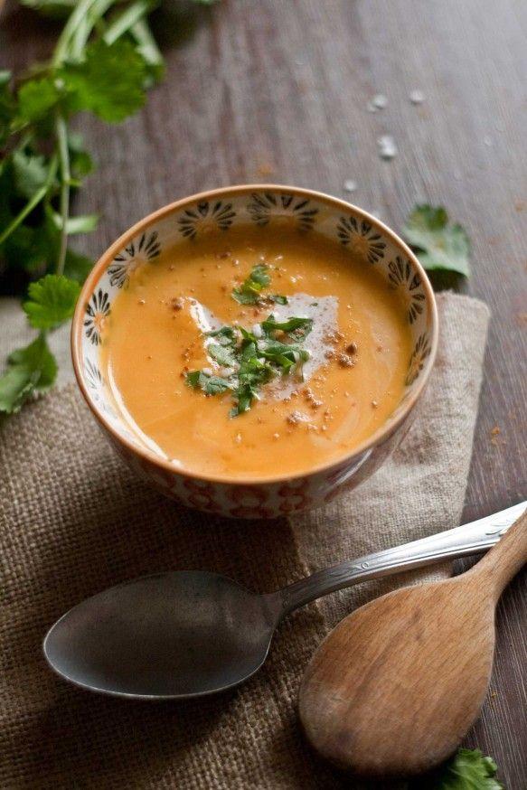 Envie de soupe : courge butternut, coco, curry
