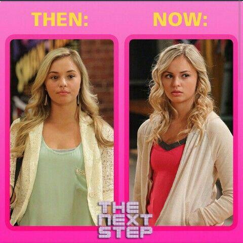 Michelle: Then and Now #TheNextStep #Season1 #Season2 #Michelle #TNS