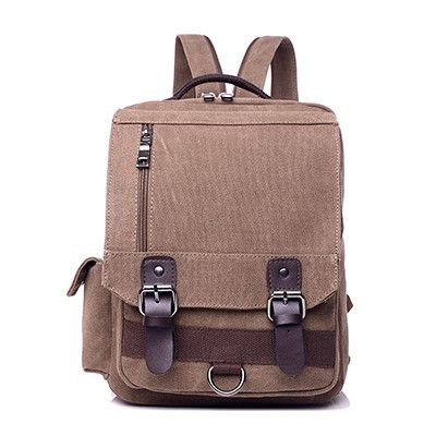 AOU Retro Vintage Canvas Backpacks For Men Middle Students School Bags Backpack Male Summer Travel Backpack Space Backpack