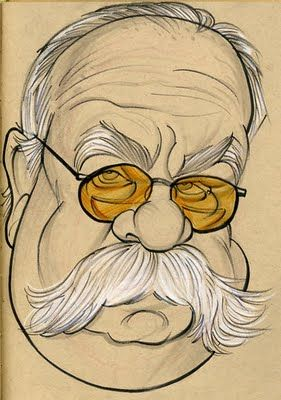 Wilford Brimley (by Zack Wallenfang)