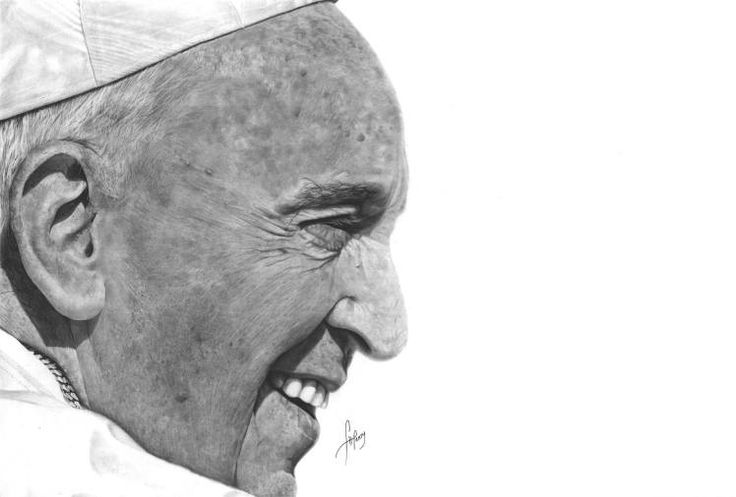 """""""His Holiness Pope Francis"""" by Anson J. Henry"""