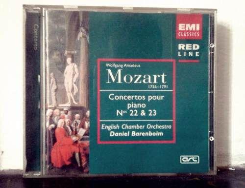 #Mozart - Conciertos Para Piano 22 Y 23 Daniel Barenboim $90