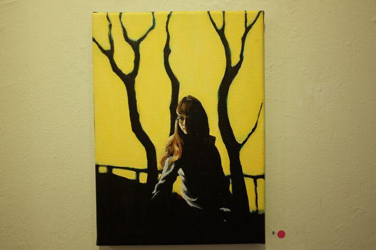 I paint using Acrylics.