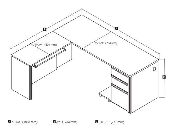 How To Measure L Shaped Desk J Interior Design 2017