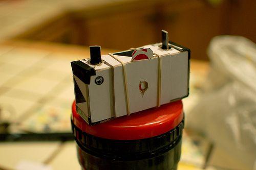 Dippold pinhole camera/front view