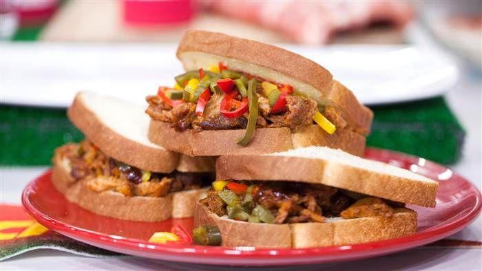 Sunny Anderson's pierogi pizza and slow-cooker rib sandwiches - TODAY.com