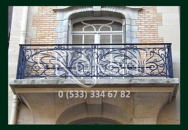 Balkon Korkuluk Modelleri, Feforje Korkulukları Modelleri ve Fiyatları