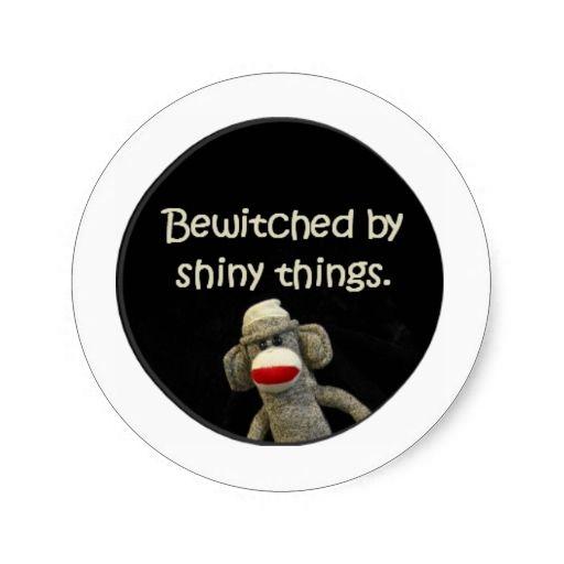 Sock monkey slurs stickers