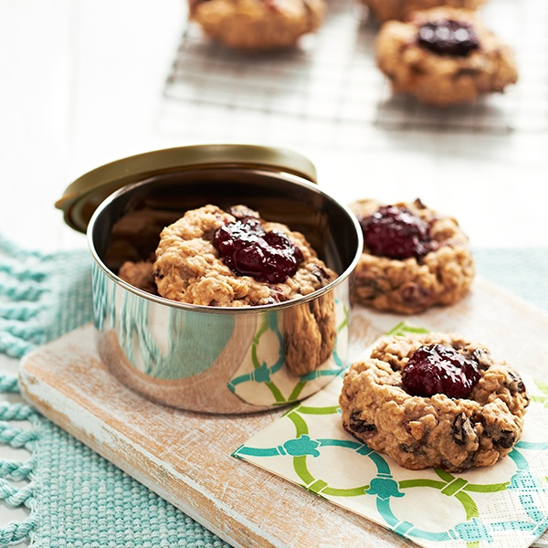 Minute Maid's Berry Rolled Oat Rounds  #Cookies #MinuteMaid