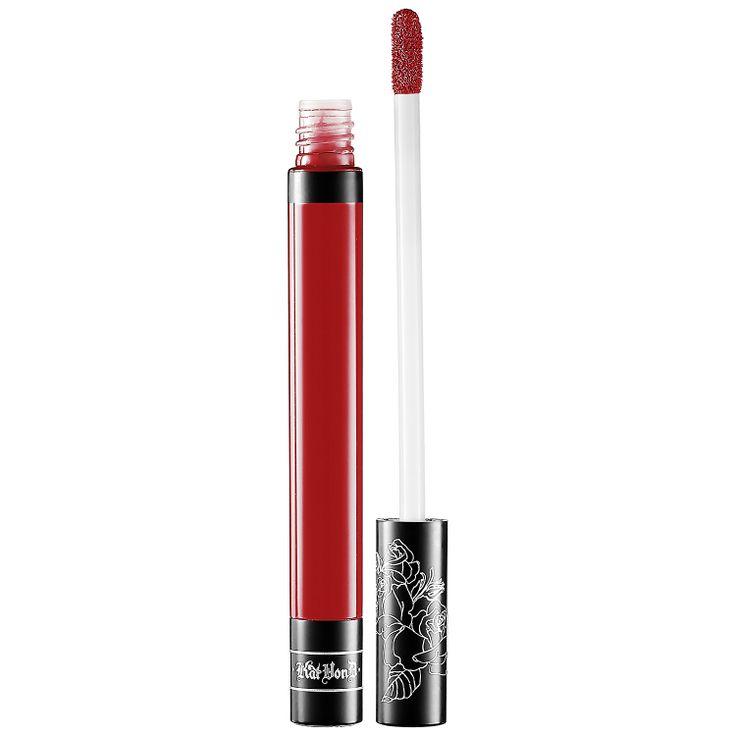 Everlasting Love Liquid Lipstick - Kat Von D Oulaw Brick Red  Sephora