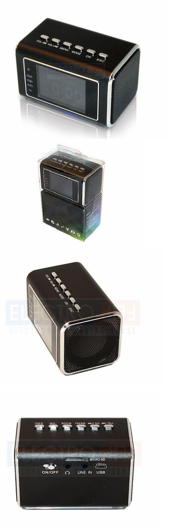 Surveillance Gadgets: Mini Hidden Spy Camera Clock Portable Dv Recorder 24Hr Surveillance Night Vision BUY IT NOW ONLY: $108.79