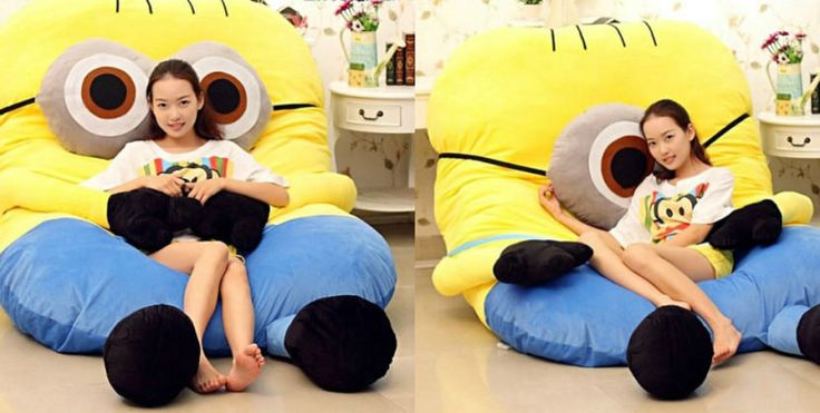 This giant minion bed is the best cuddle buddy you'll ever have