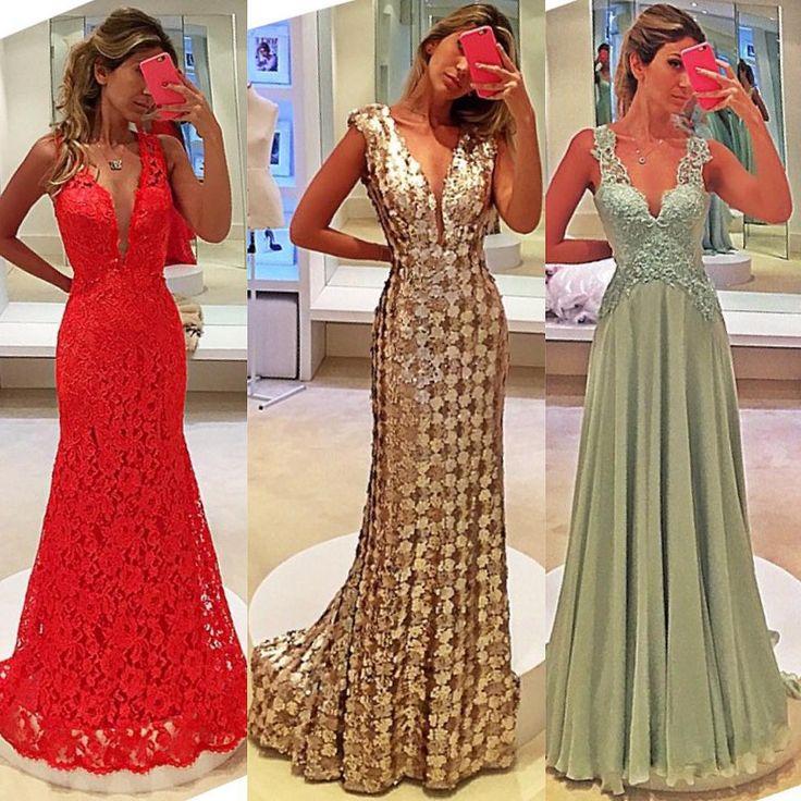 Vestido de festa 😍                                                       …
