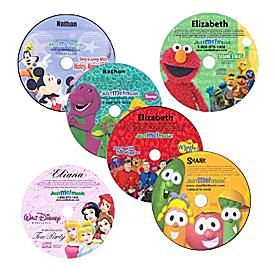 YOUR CHILD'S NAME IN THE CD!!! Just Me CD-Imagine the delight your child will experience when they listen to a CD that not only features their favorite character, but also mentions their name over 50 times during the 30 minutes