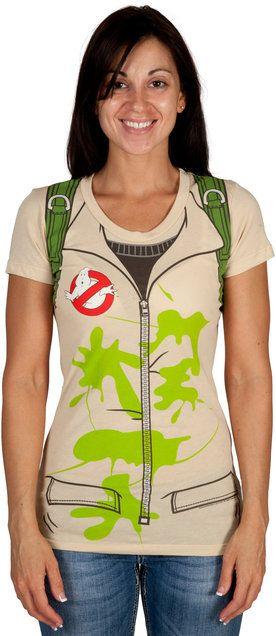 Ladies Ghostbusters Costume Shirt