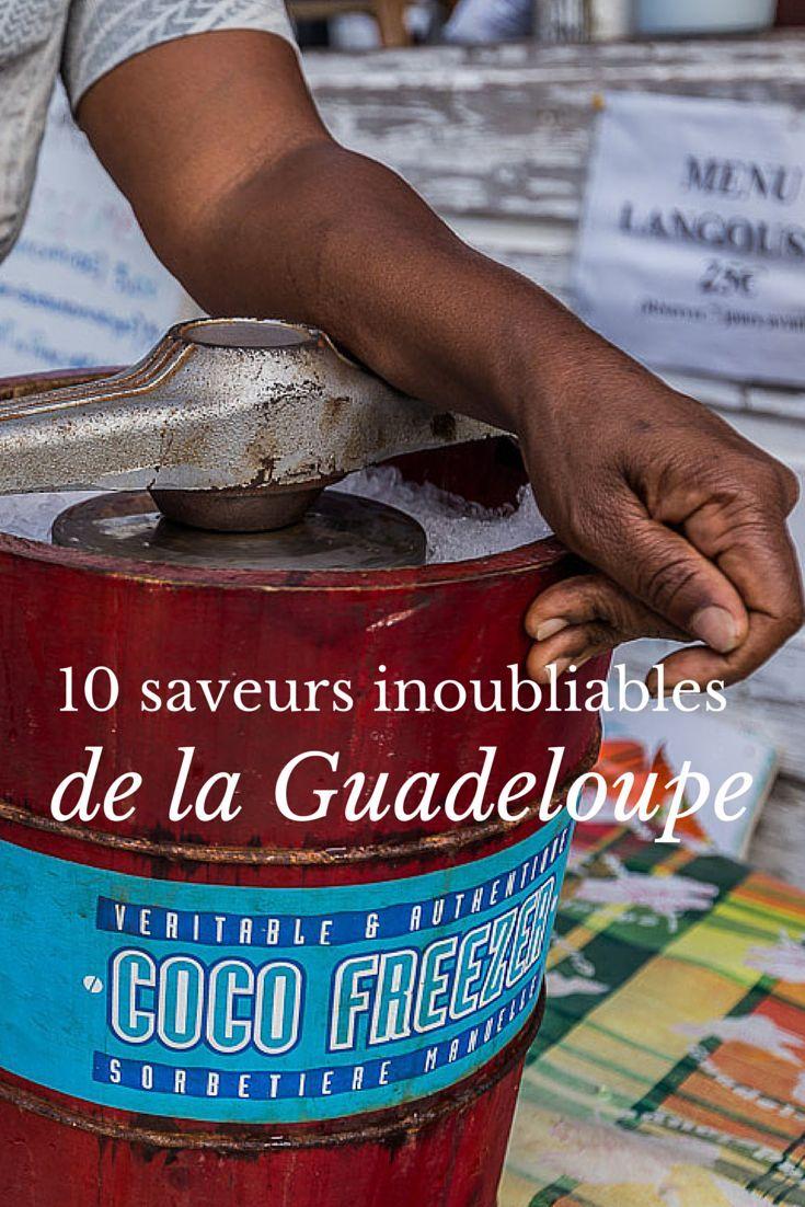 Flan coco, sorbets, accras, poulet boucané, Ti punch... 10 saveurs incontournables dont vous vous souviendrez longtemps après votre #voyage en #Guadeloupe !