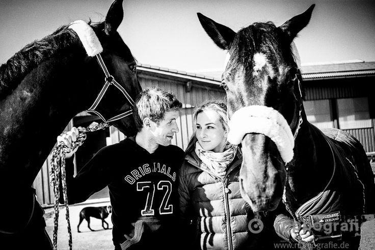 Ruppografie Blog - Weltmeister Thomas Müller mit seiner Lisa, Pferden & Hunden