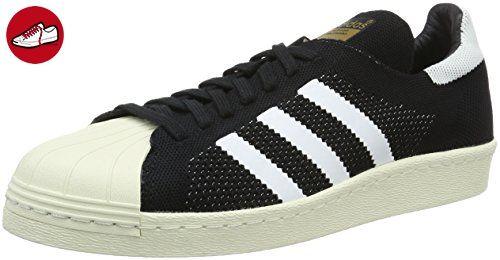 adidas Herren Superstar 80S Primek Sneakers, Schwarz / Weiß, 46 EU - Adidas sneaker (*Partner-Link)