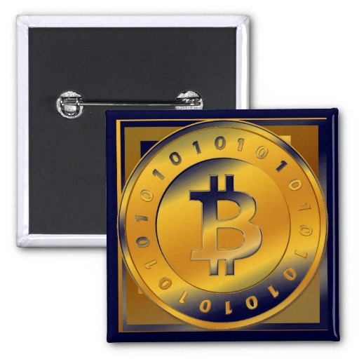 Pin Bitcoin - M3     Más productos BITCOIN:  http://www.zazzle.es/lamareanaranja/regalos?cg=196938480424491766