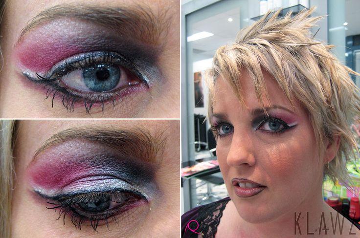 Makeup by KLAWZ - Pink/Silver Eyeshadow
