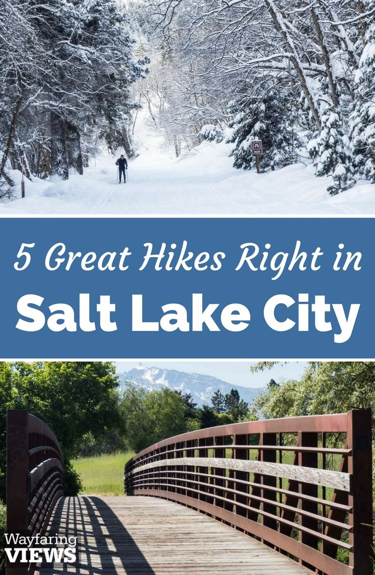 These 5 urban hiking trails in Salt Lake City offer the perfect balance of wilderness and accessibility. | Great hikes in Salt Lake City summer or winter | Things to do in downtown Salt Lake City Utah | United States
