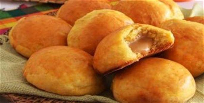 Receita de Pão de abóbora com doce de leite - Receitas de Pães - Portal Vital