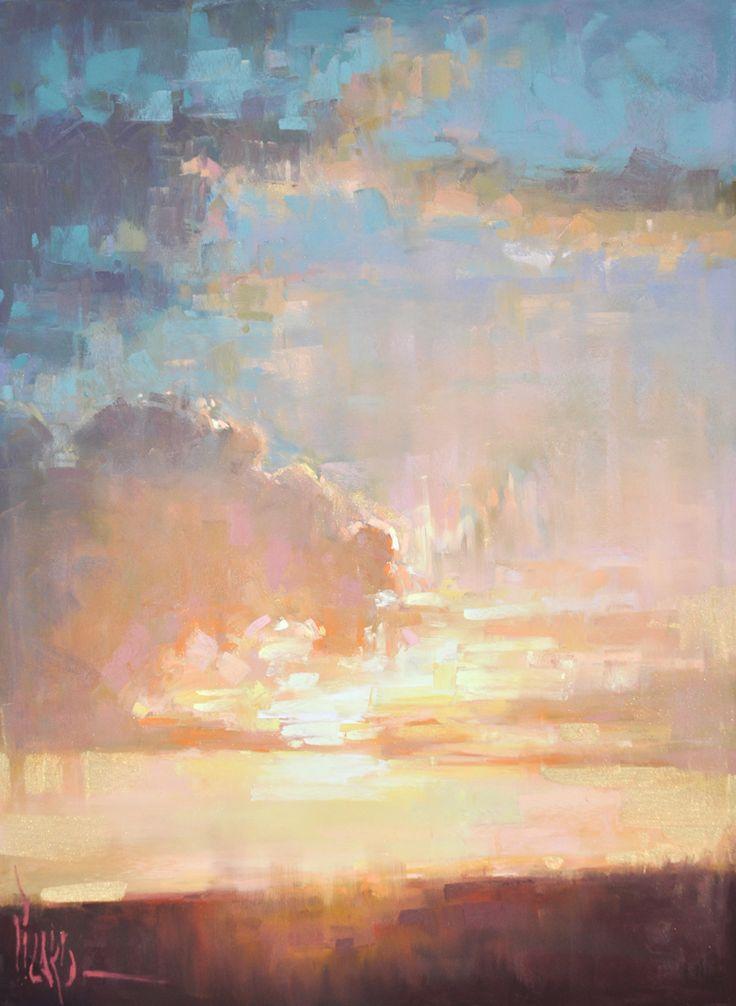 Heaven's Gold Alain J Picard pastel