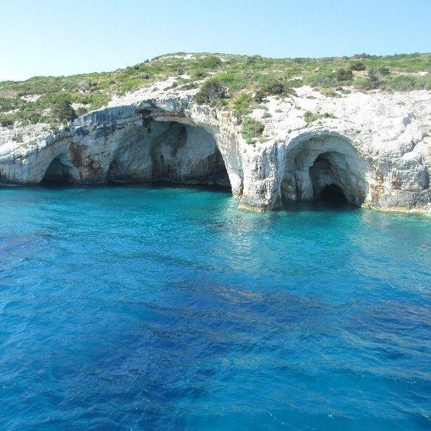 Experience the real #Zante! #BluCaves #Zakynthos  Photo credits:@marija_tomovic