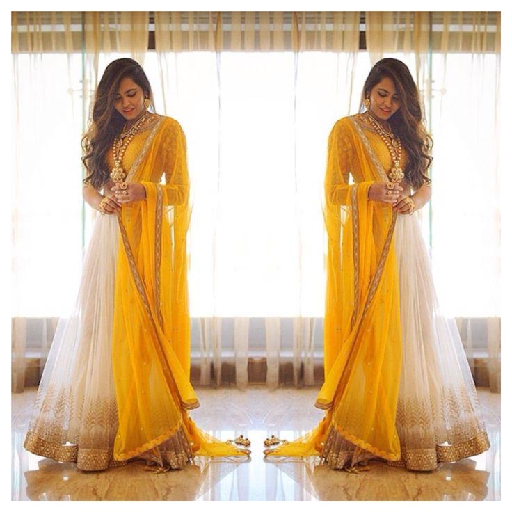 Yellow Pakistani desi Indian Bengali suit