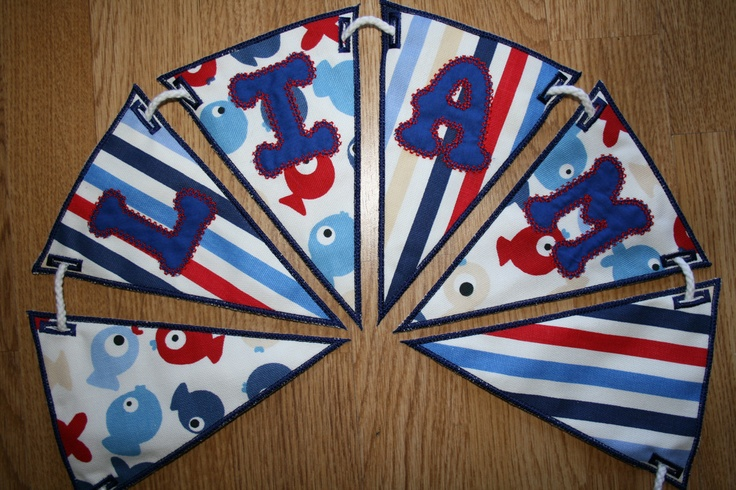 Personalised Bunting available from pitter-patter.ie
