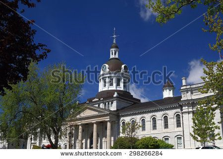 City Hall View of frontage Kingston, Ontario, Canada