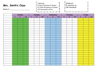 This is the discipline log I used wit one co-teacher. Learn how it works and get more tips for co-teaching & team teaching