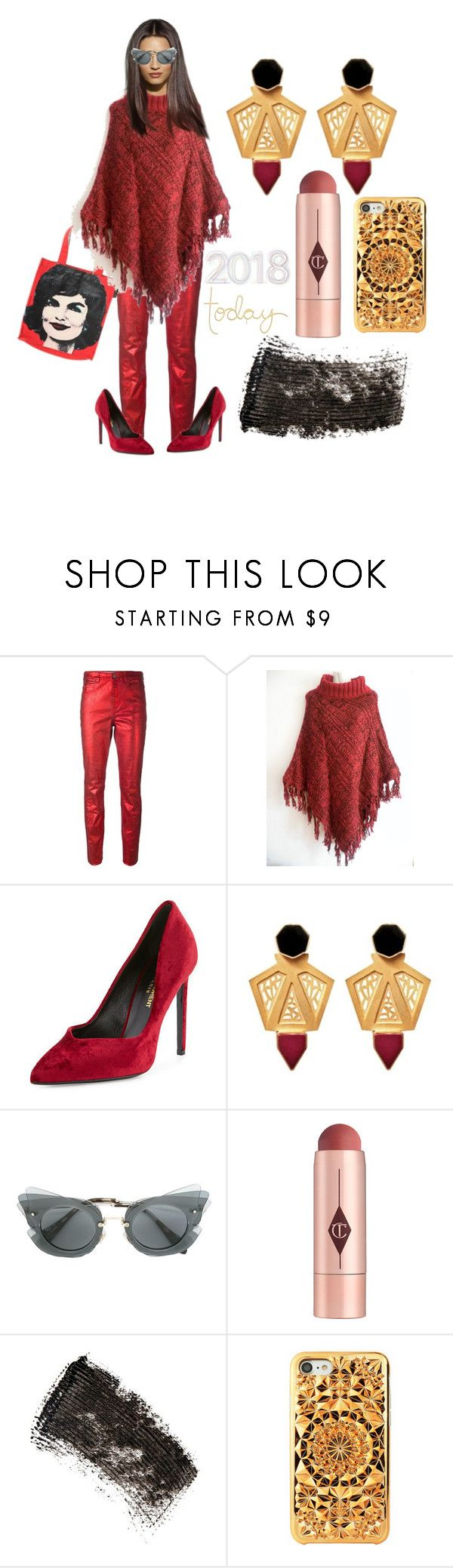 """2018 Today"" by michelle858 ❤ liked on Polyvore featuring Étoile Isabel Marant, Andy Warhol, Miu Miu, Charlotte Tilbury and W3LL People"