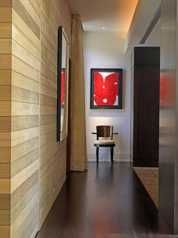 ideas para pintar y decorar un pasillo estrecho