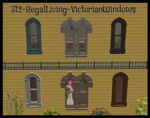 Regal Living 20 best the sims 2: victorian - doors & windows images on