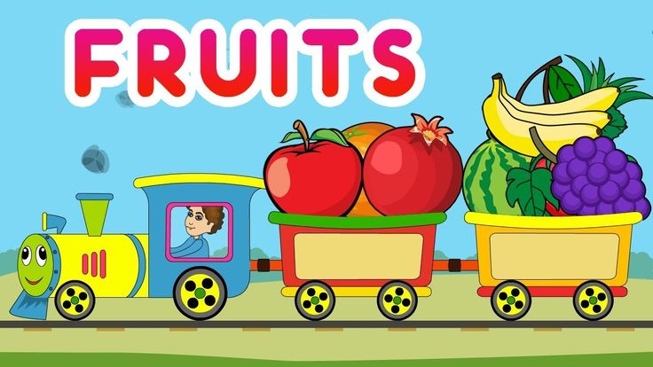 Kids LearnTv -Fruit Names with Pictures for Kids, Children in KidsLearnTV