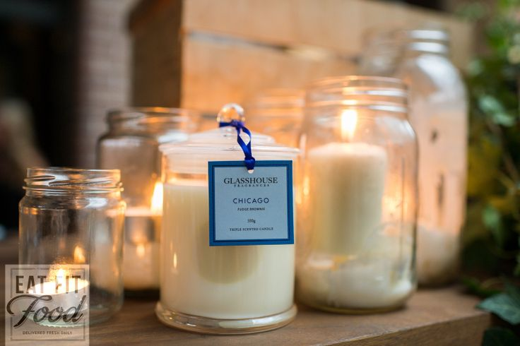 One of our sponsors Glasshouse Candles