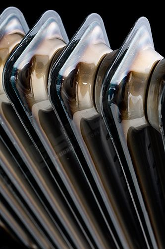 Designer Radiators   Clear Lacquer Vasco Vintage 50 2 Column Horizontal   600h x 978w mm