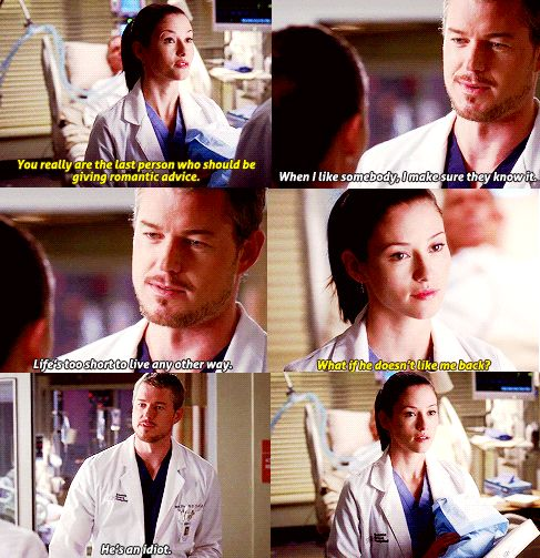 Slexie. Meant to be - Mark Sloan and Lexie Grey talking about George O'Malley | Grey's Anatomy