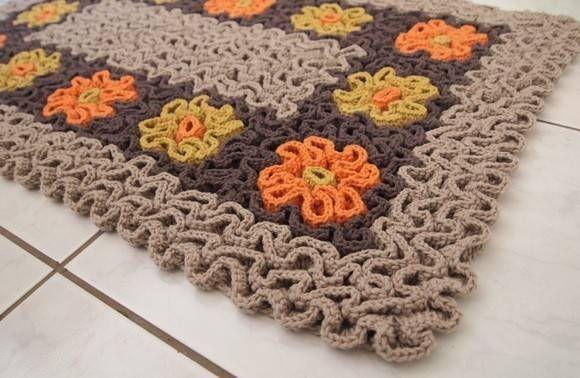 crochet tipo alto relevo ou 3d - Pesquisa Google