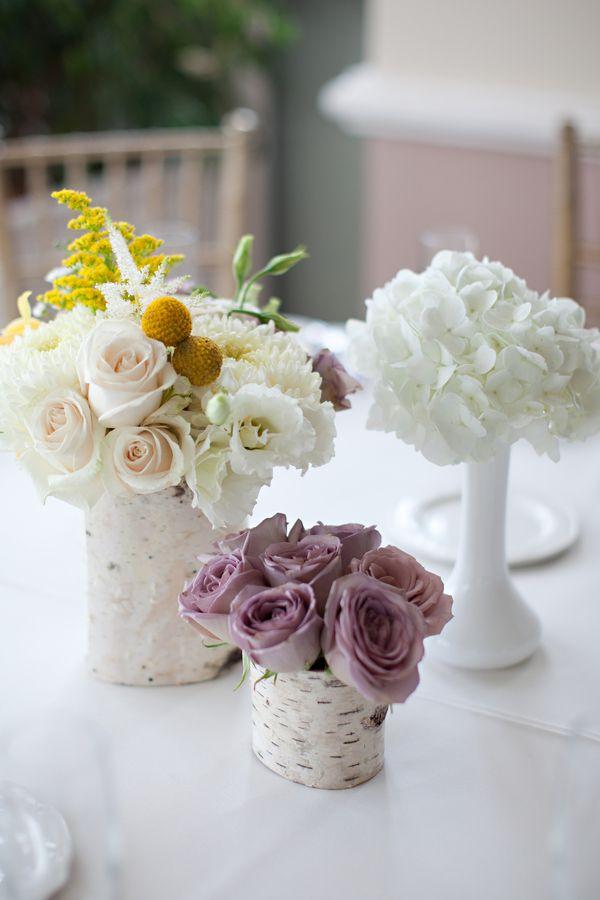 Beach Wedding Pastel Centerpieces MadamPaloozaEmporium Facebook