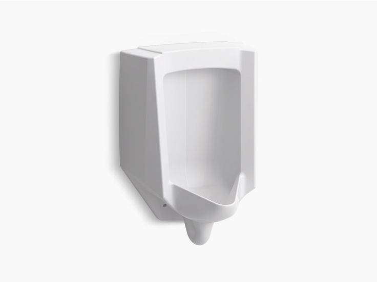 The newly redesigned K-4991-ER urinal provides flexible flushing options along with a bold contemporary look. Based on your selected flushometer, the Bardon operates in the range from 0.125 to 1.0 gallon per flush.